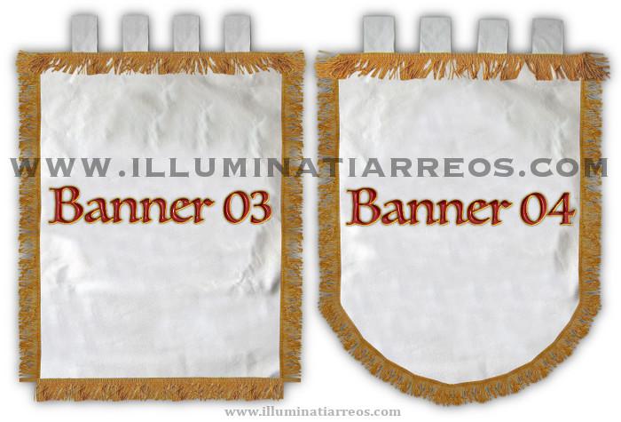 Blue Banner 06