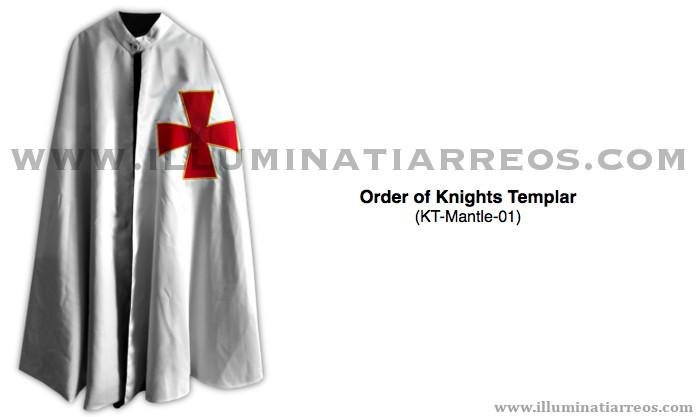 Knights templar mantle